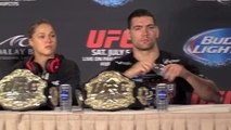 UFC 175 Post-Fight Press Conference: Ronda Rousey