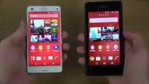 Sony Xperia Z3 Compact vs Sony Xperia E3 Aliexpress First Review 4K