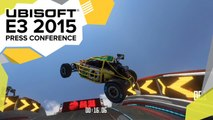 Trackmania Turbo: Track Editor in Action - E3 2015 Ubisoft Press Conference