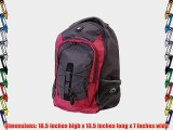 Ultimate Wenger SwissGear Mars 16 Notebook Computer Laptop Backpack - Red