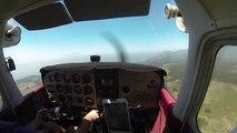 Flying VFR Over the Fog to Half Moon Bay, CA (HD)