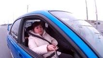 Gopro Clone SJ4000 With Selfie Stick Subaru WRX 1/2