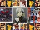 LE MONDE POP ART D'ANDY WARHOL & compo musicale de BENJAMIN