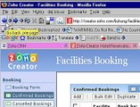 Zoho Creator Reservation Booking Tool Sample Application