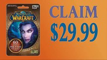 How to Get World of Warcraft 60-Day Subscription gift card codes $30 with Proof updated in 2015