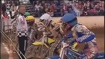 Josef Franc crash in Czech Golden Helmet Pardubice 2009