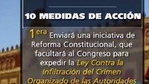 PEÑA NIETO PRESENTA 10 ACCIONES DE JUSTICIA MÉXICO 911 VIDEO OFICIAL MENSAJE 27 NOVIEMBRE