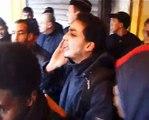 Action antisioniste Paris 13/01/08