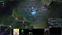 StarCraft 2 - SC241 - MadFrog (Z) vs WhiteRa (P) on Steppes of War