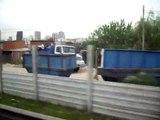 Buenos Aires -Villa 31 vista desde Autopista .