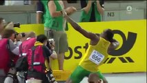 "9""58 Usain Bolt WR - 100 metri piani - Mondiali Berlino Agosto 2009"