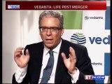 Vedanta-Cairn India Merger: Tom Albanese of Vedanta Resources PLC & Mayank Ashar of Cairn India