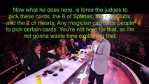 Mat Franco: iPhone Trick REVEALED (step by step) - AGT 2014 (Semi-Final Act)