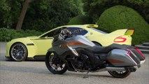 """Concorso D'Eleganza Villa D'Este 2015 - BMW 3.0 CSL Hommage and BMW Mototrrad """"Concept 101"""""""