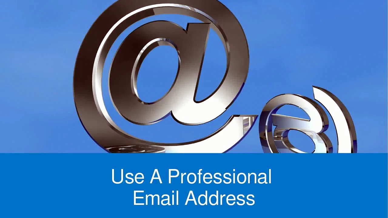Your Email Address Can Prevent You From Getting a Job in UK