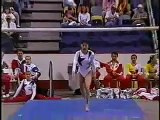 Amy Chow - 1996 Professional World Team Championships - Uneven Bars