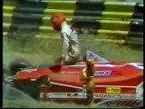 F1 Argentine GP 1980 Gilles Villeneuve Crash