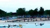 Beach Sunset ~ Garuda Indonesia ~ Airplane ~ Denpasar ~ Bali 720p