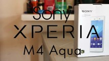 Sony Xperia M4 Aqua Dual Sim 4G LTE unboxing, quick hands-on