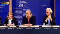 Jean-Marie Le Pen et Bruno Gollnisch ne feront pas partie du groupe FN au Parlement européen