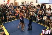 TUFF Women's Submission Grappling 10010 TIna vs Kirsten Live Pt 2