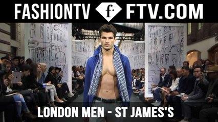 Jermyn St. St James Open Air Catwalk Show Highlights| LC: M | FashionTV