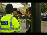 UK THUG MASONIC COPS AND THEIR ILLEGAL USE OF TERRORISM LAWS EXPOSED