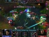 LoL Highlights Millenium vs Unicorns of Love Game 3 Highlights S5 EU LCS Spring Promotion Bo5 MIL