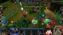 LoL Highlights   Fnatic vs Samsung Blue Game 2 S4 Worlds Highlights LoL World Championship 2014 S4 F