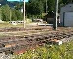 "Semmering railway station & the ""Kalte Rinne"" viaduct (ÖBB)."