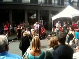 Street Dancers Lindy Hop & Jitterbug in New Orleans on Royal Street