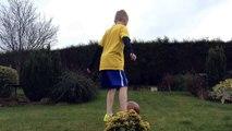 Real life football - Kick Ups And Sick Scissor Kicks