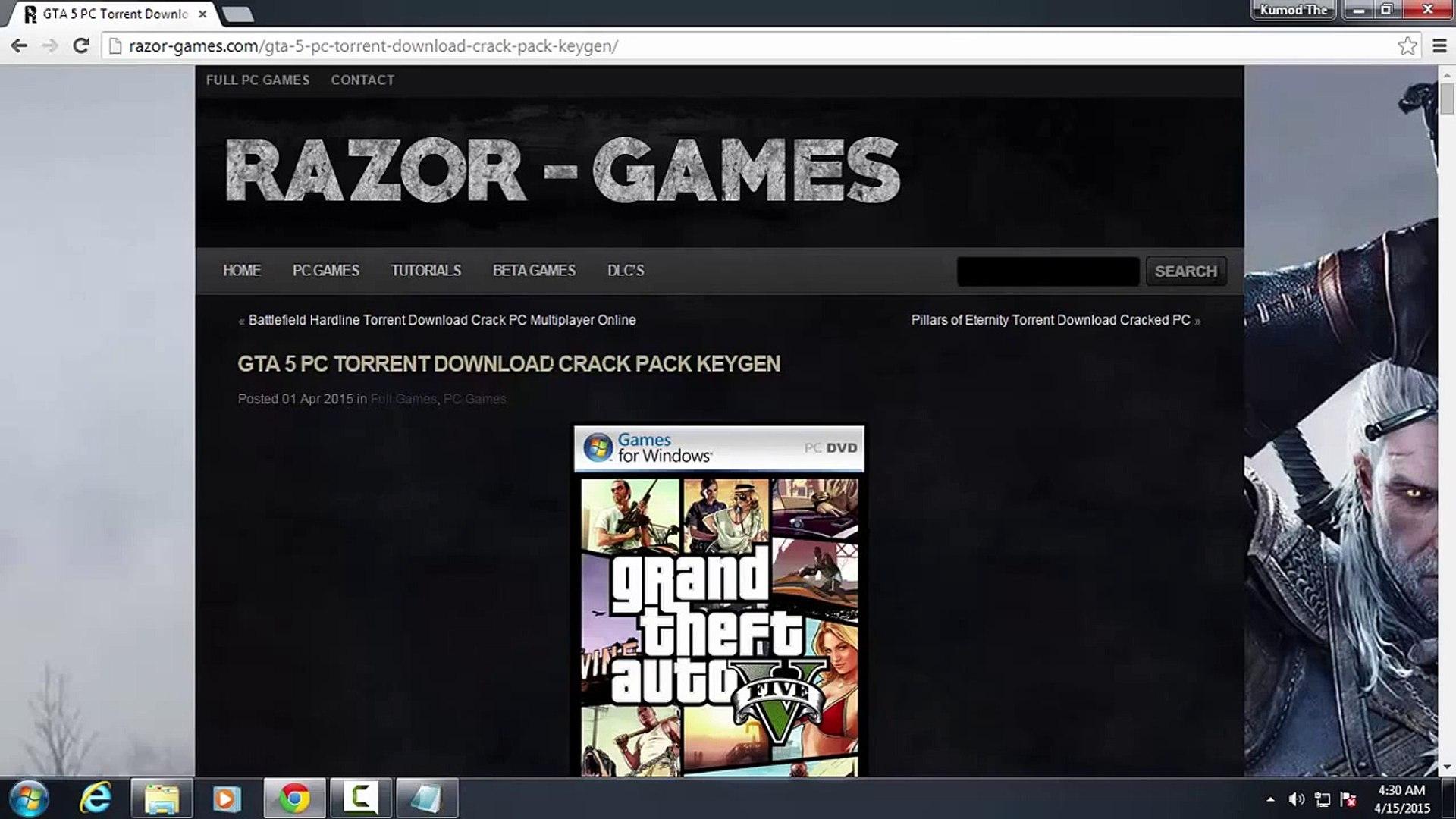 GTA 5 PC Crack Download Razor