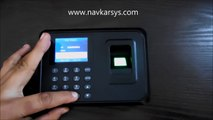 How to configure ZK F18 biometric time attendance fingerprint reader