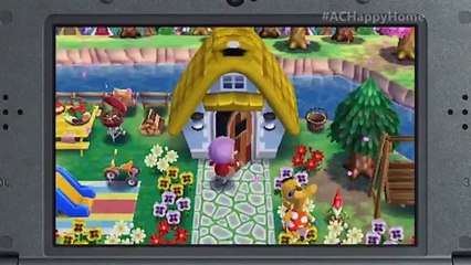 Trailer Gameplay de Animal Crossing : Happy Home Designer