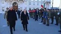 Trieste - Letta riceve il presidente della Federazione Russa, Vladimir Putin - L'arrivo (26.11.13)