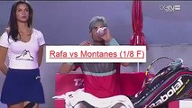 Beautyful HOT GIRL of Rafael NADAL   funny moments tennis AEGON Championships (London) 2015