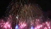 2015 Fireworks: Tokyo, Japan (New Year Fireworks)