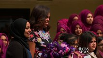 First Lady Michelle Obama travels to the United Kingdom