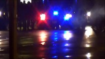 Raw Video: Shots fired at police car in Ferguson, police fire tear gas at protesters & journalists.
