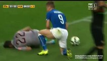 Ciro Immobile Kick Beto - Italy vs Portugal 16.06.2015