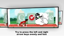 Hurdles Google Doodle Tutorial - 11.2 sec. Hurdles World Record - Olympics London 2012