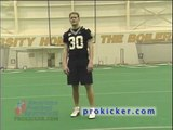 Travis Dorsch teaches Punting techniques and punting skills for punters.