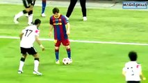 Lionel Messi Owns Nani - Amazing Humiliation - Great Skill (Final Wembley 2011) - Rare Angle