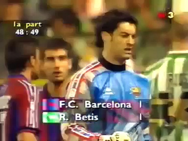 نهائي كأس ملك اسبانيا : برشلونه vs بيتيس 3-2 موسم 96/97