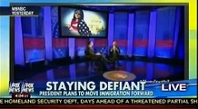 Vowing To Veto - President Obama Promises To Shield Illegals - Fox & Friends