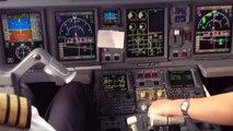Air Canada E190 Vancouver(YVR)-Calgary(YYC) Cockpit view