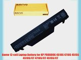 Bavvo 12-cell Laptop Battery for HP PROBOOK 4510S 4710S 4515S 4510S/CT 4710S/CT 4515S/CT