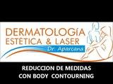 Reduccion de medidas con maquina de ultracavitacion en Lima Peru. Antes y después