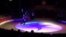Extrait du Spectacle Formidable 2012 (Cirque Samuel Pauwels) - Samuel Pauwels - Jonglage